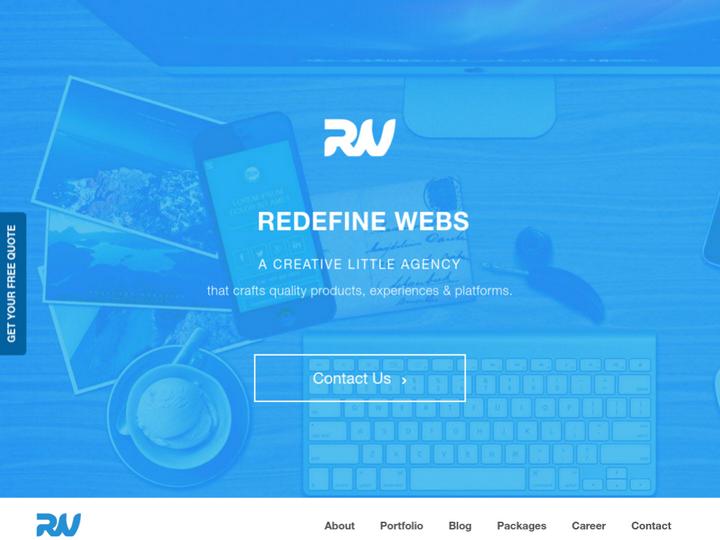 Redefine Webs on 10Hostings