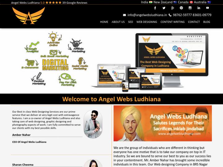 Angel Webs Ludhiana on 10Hostings
