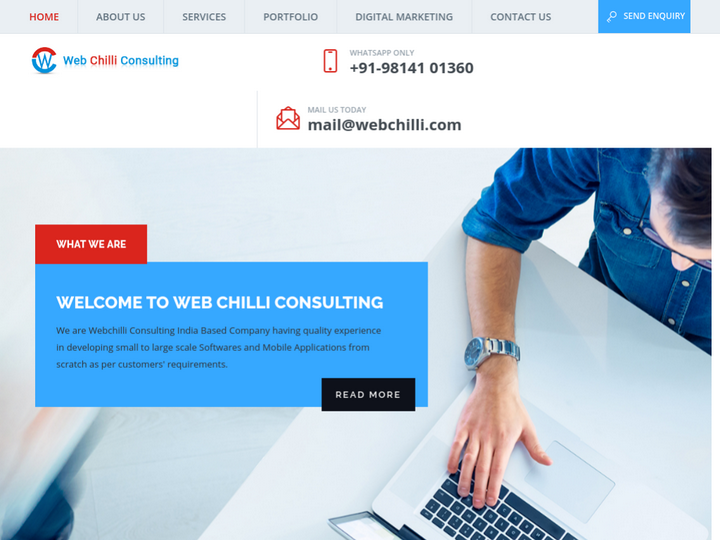 Webchilli Consulting on 10Hostings