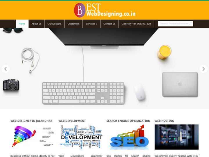 Best web designing on 10Hostings
