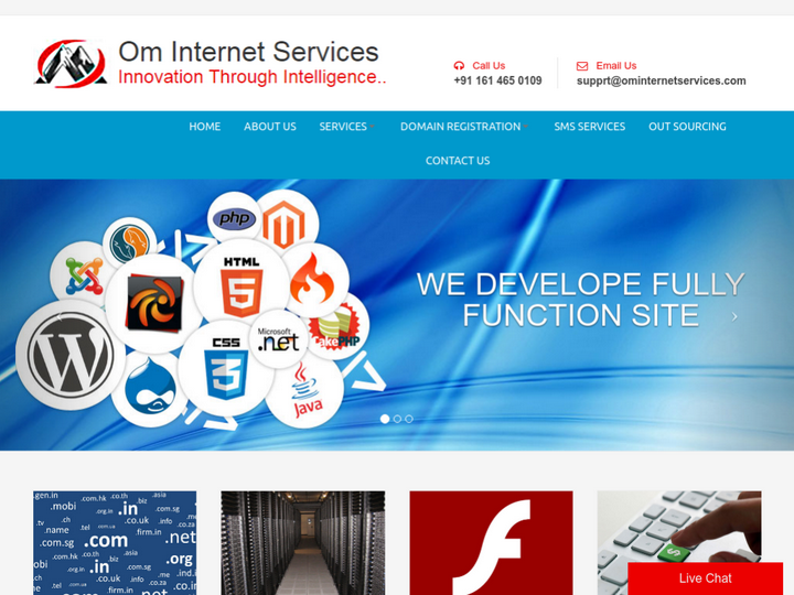 Om Internet Services on 10Hostings