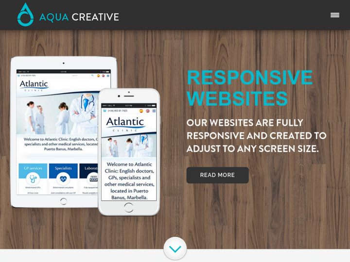 Aqua Creative on 10Hostings