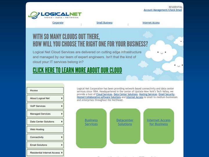 Logical Net Corporation on 10Hostings