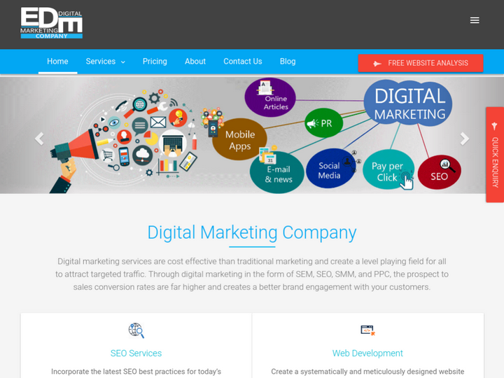 eDigital Marketing Company on 10Hostings