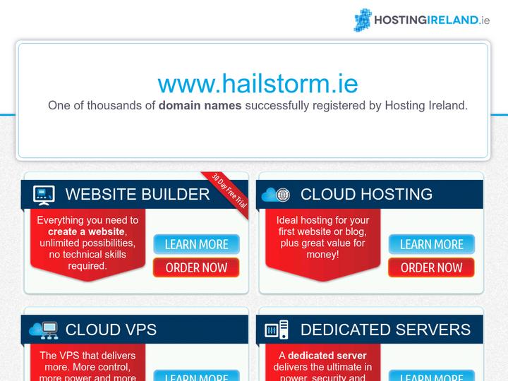 Hailstorm Limerick on 10Hostings