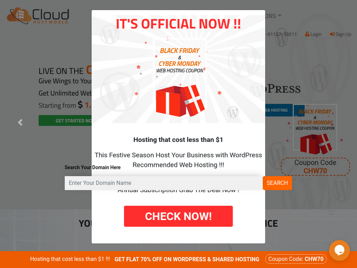CloudHostWorld on 10Hostings