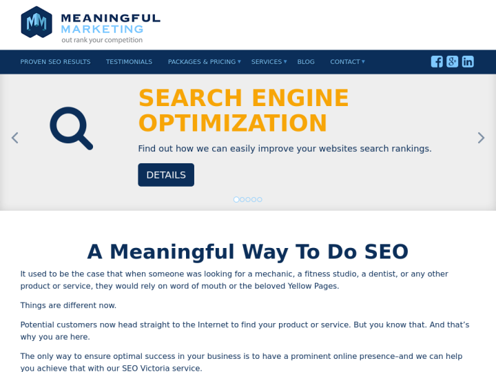 Meaningful Marketing on 10SEOS