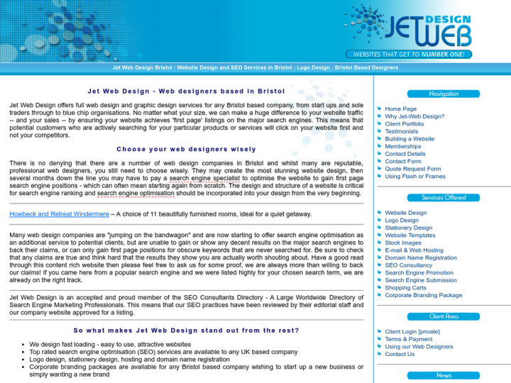 Jet Web Design on 10SEOS