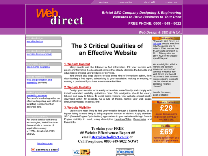 Web Direct on 10SEOS