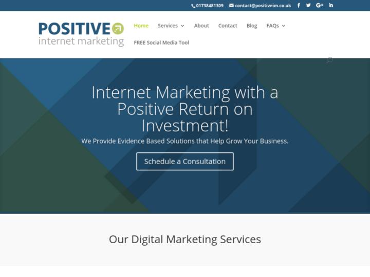 Positive Internet Marketing Ltd on 10SEOS