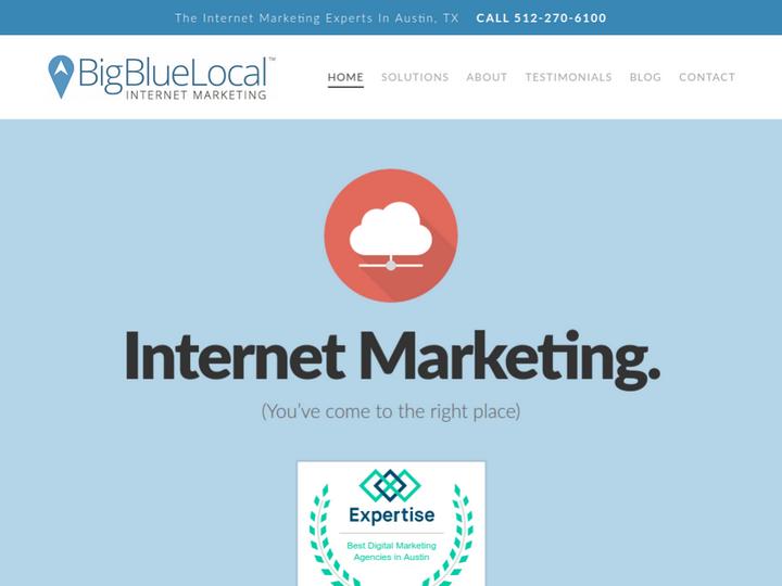 Big Blue Local Internet Marketing on 10SEOS