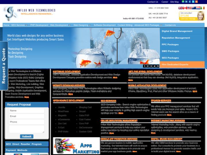 Influx Web Technologies on 10SEOS