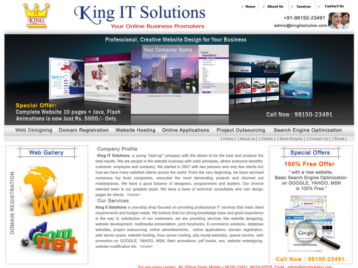 KING IT SOLUTIONS on 10SEOS