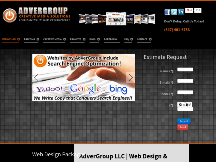 AdverGroup Web Design on 10SEOS
