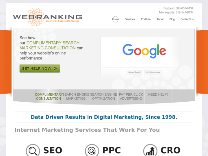 Web Ranking on 10SEOS
