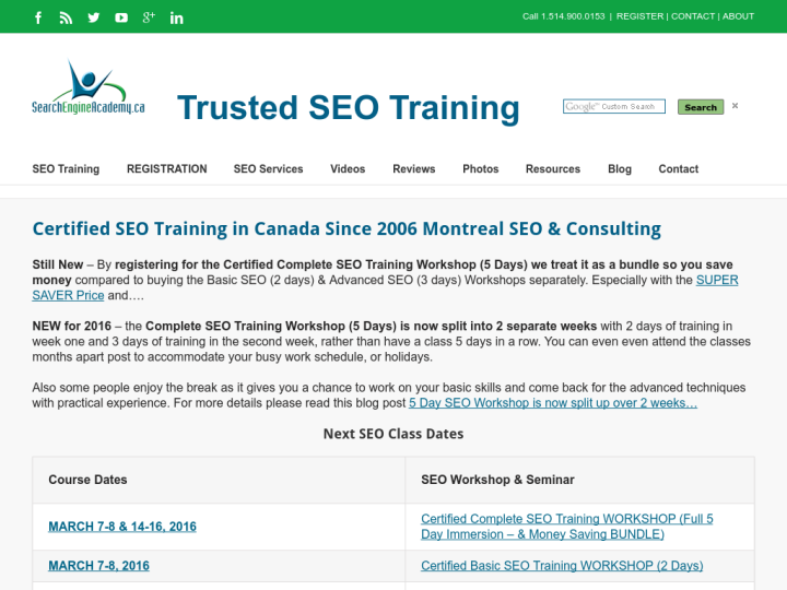 Search Engine Academy on 10SEOS