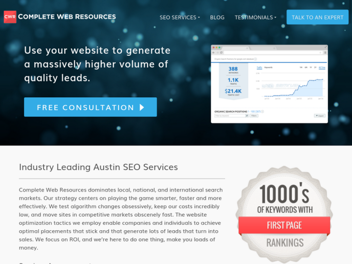 Complete Web Resources on 10SEOS