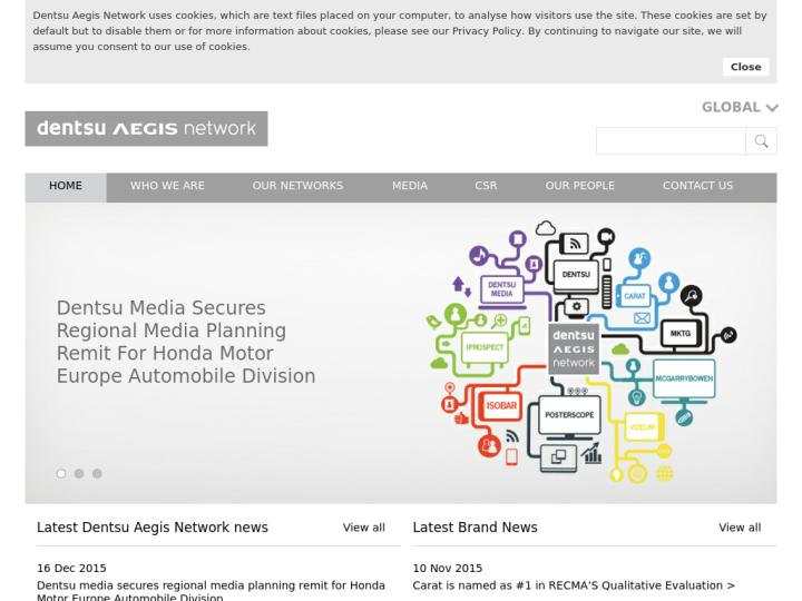 Dentsu Aegis Network on 10SEOS