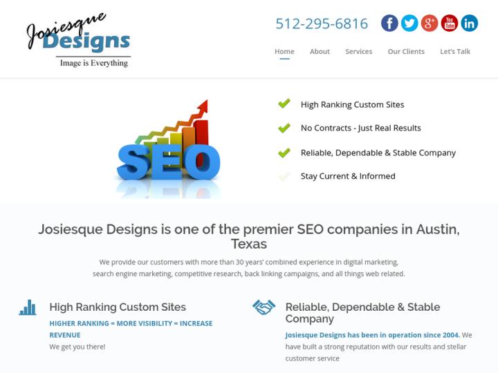 Search engine optimization in Austin on 10SEOS