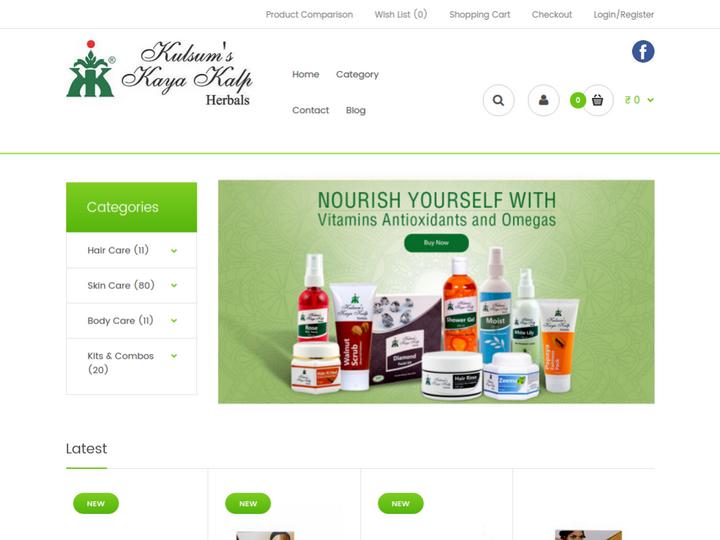 Kulsum's Kaya Kalp Herbals on 10SEOS