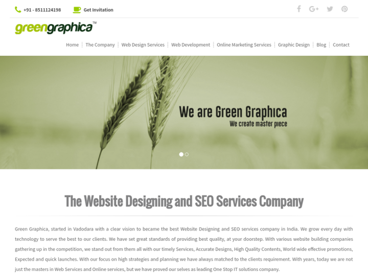 Green Graphica on 10SEOS
