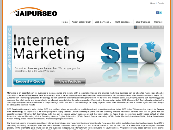 JAIPUR SEO on 10SEOS