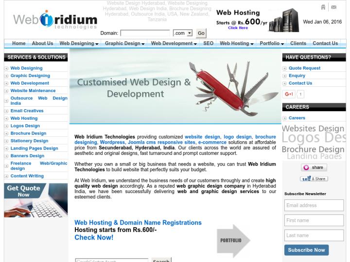 Web Iridium Technologies on 10SEOS