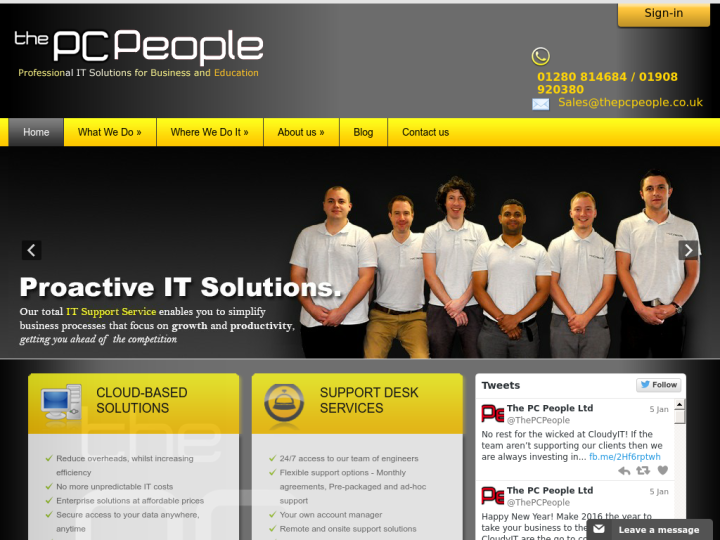 The PC People on 10SEOS