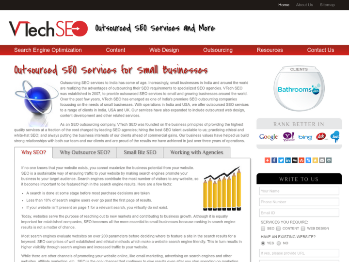 VTech SEO India on 10SEOS