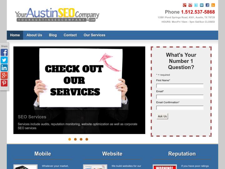 Your Austin SEO Company on 10SEOS