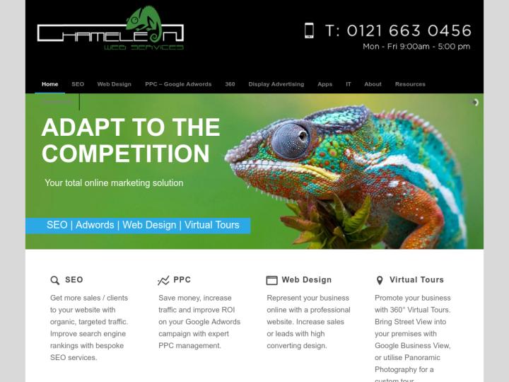 Chameleon Web Services on 10SEOS
