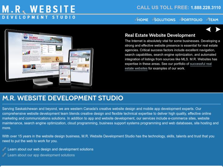 M.R. Website Development Studio on 10SEOS