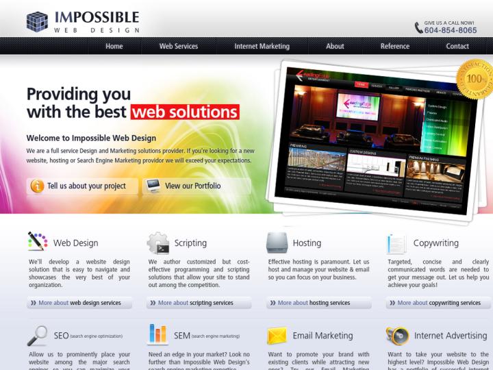 Impossible Web Design on 10SEOS