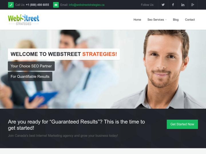 WebStreet Strategies on 10SEOS
