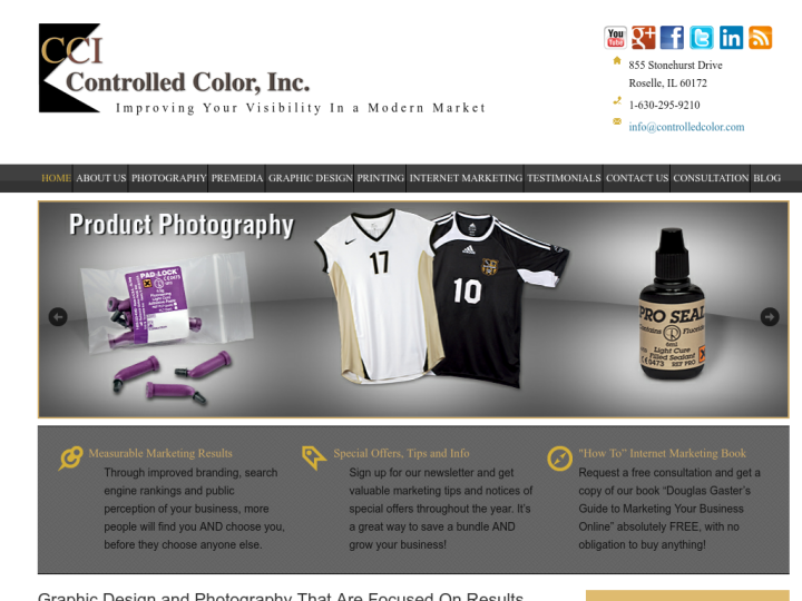 Controlled Color, Inc. on 10SEOS