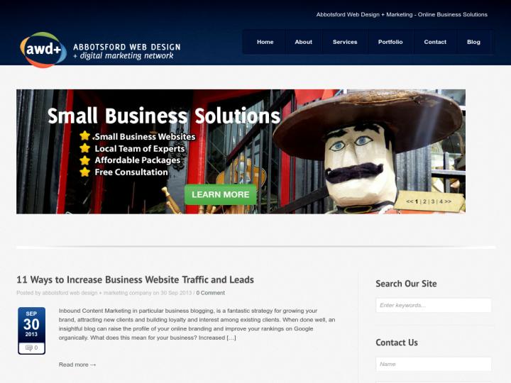 Abbotsford Web Design on 10SEOS