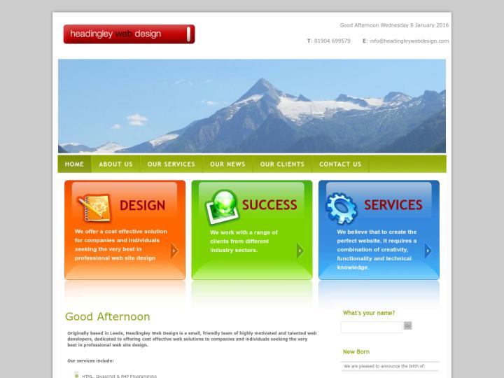 Headingley Web Design on 10SEOS