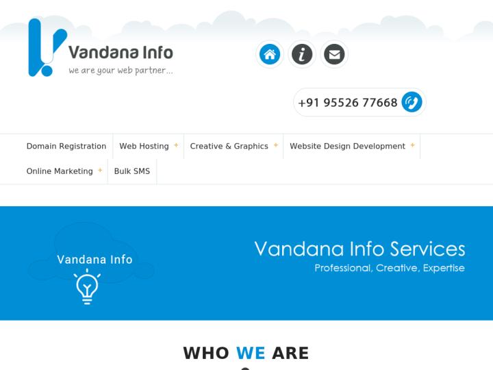 Vandana Info on 10SEOS