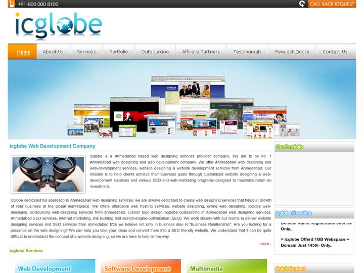icglobe Web Development Company on 10SEOS