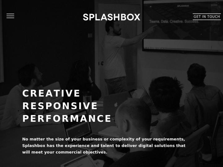 Splashbox Agency on 10SEOS