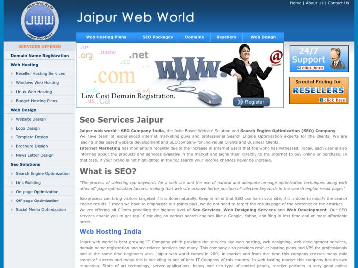 Jaipur Web World on 10SEOS
