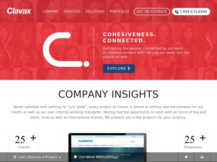 Clavax Technologies on 10SEOS