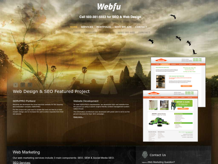 Webfu SEO & Web Design on 10SEOS