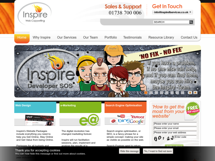 Inspire IT Services Ltd on 10SEOS