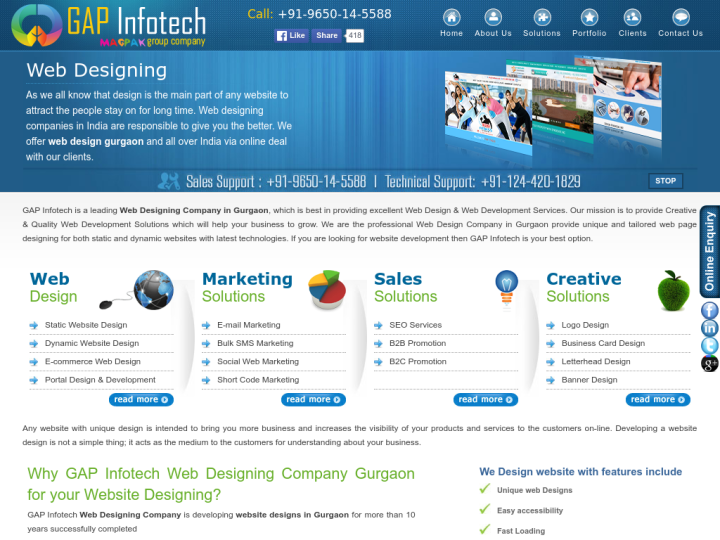 Gap Infotech on 10SEOS