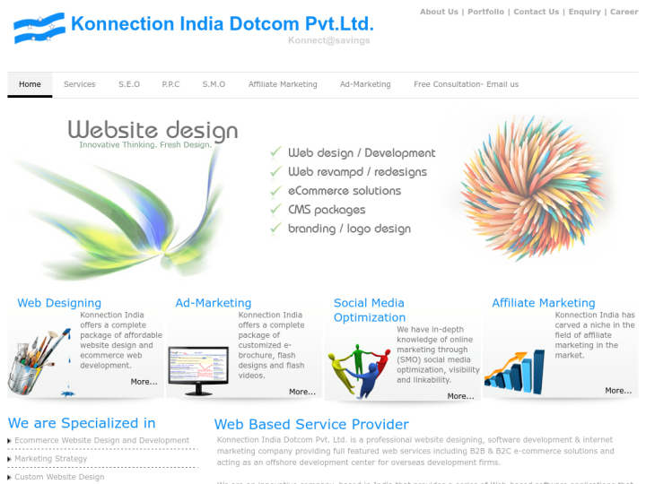 Konnection India Dotcom Pvt Ltd on 10SEOS