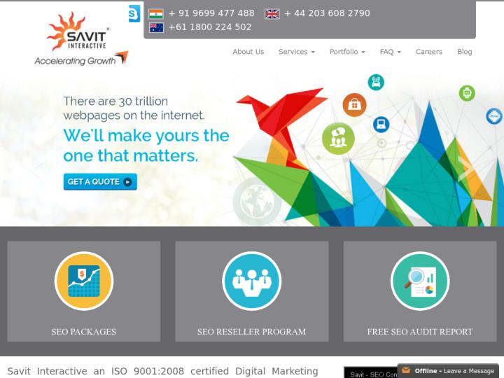 Savit Interactive on 10SEOS