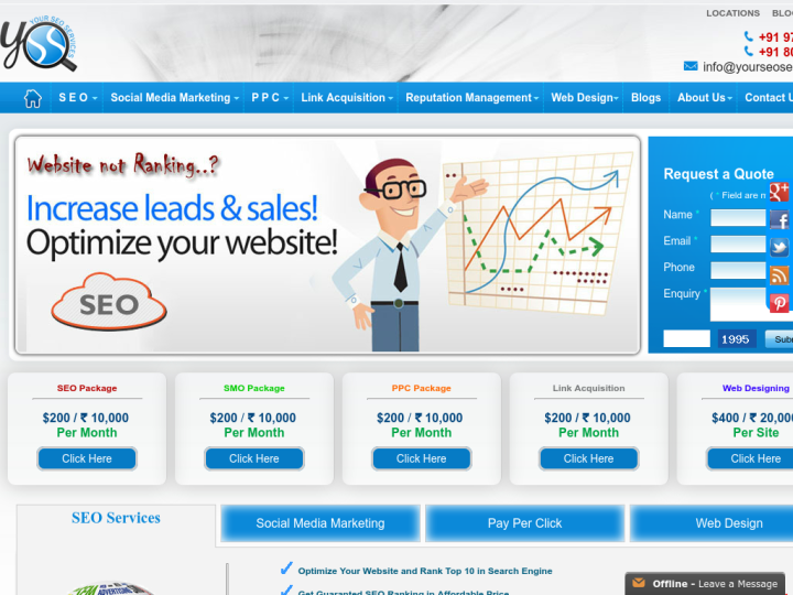 Your SEO Services on 10SEOS