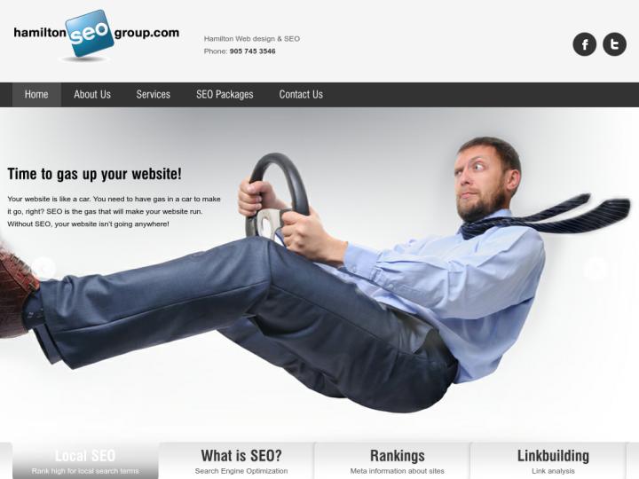Hamilton Web design & SEO on 10SEOS